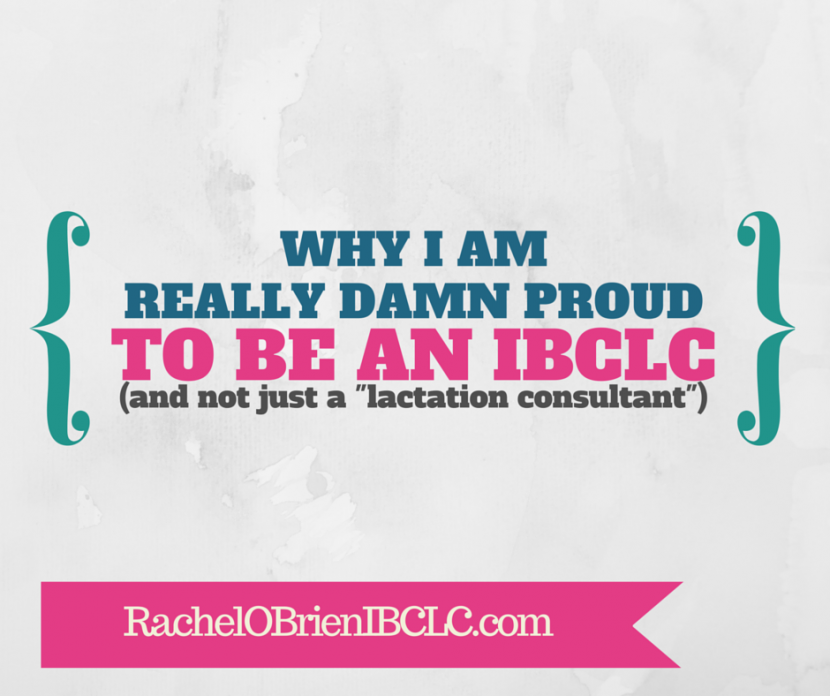 proud to be IBCLC
