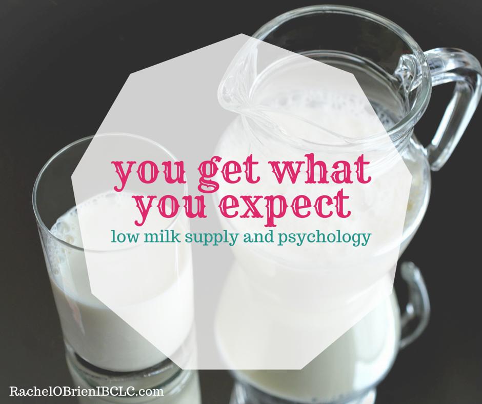 low milk supply