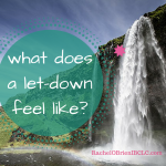 What does a let-down feel like?